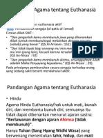 Pandangan Agama Ttg Euthanasia