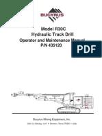Manual de Operador - Bucyrus - R30C.pdf