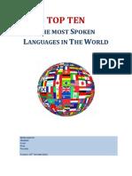 TRABALHO DE INGLÊS - English Language in the World