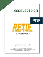 Retie Actualizado 2013