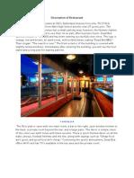 Restaurant and Menu Evaluation