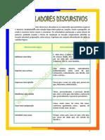 Articuladores Discursivos Ficha Informativa