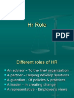Different Roles of HR