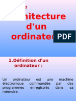 81934128 Architecture d Un Ordinateur