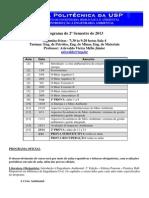 PHA2218 Programa Turma 2013201