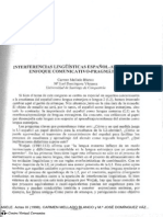 Interferencias lingüísticas español-alemán