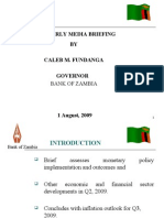 BOZ Quarterly Brief - Presentation (Q2 2009)