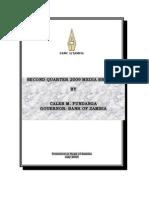 BOZ Quarterly Brief - Speech (Q2 2009)