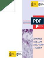 Evaluacion de Riesgos PLANTAS de RECICLADO Papel, Vidrio y Plastico