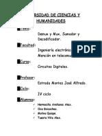 Laboratorio n4 de Sumador Multiplexor y Demultiplexor
