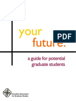 Canadian Graduate Studies Handbook