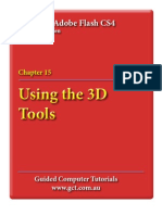 Learning Adobe Flash CS4 - 3D Tools
