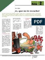Ficha Para Padres 2 COMUNICACION ENTRE PADRES E HIJOS.