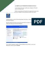 CONFIGURACIÓN DEL FIREWALL EN WINDOWS XP SERVICE PACK 2.docx
