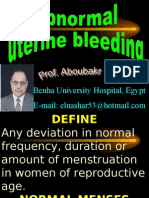 Benha University Hospital, Egypt E-Mail