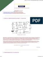 Circuitos temporizadores sencillos