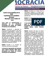 Barómetro Legislativo Diario del martes, 29 de octubre de 2013.pdf