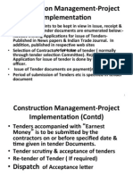 9. Construction Management