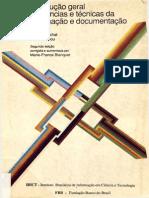 GUINCHAT, C. Introdução geral às ciências e técnicas da informação e documentação