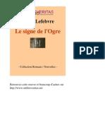 7688-JULIEN LEFEBVRE-Le Signe de Logre-[InLibroVeritas.net]