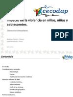 Presentacion Impacto de La Violencia en NNA Cecodap