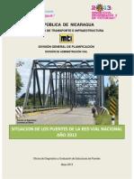 Situación de Puentes Red Vial Nacional 2012