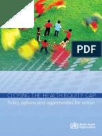 E-BOOK Closing the health equity gap WHO 2013.pdf