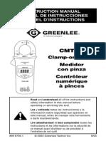 CMT 90 InstructionManual