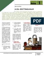 Ficha Para Padres 1 EL USO CORRECTO DE INTERNET