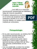 Miastenia Gravis Y Otras Enfermedades De La Unión.pptx