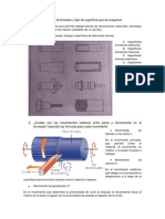 Cuestionario de Manufactura II Segundo Cuestionario