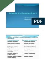 12° Pruebas No paramétricas II