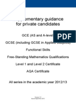 aqa private candidate guide.PDF