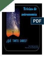 Qu Tanto Sabes de Astronomia