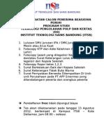 Persyaratan PMB Prodi Pulp & Kertas Glbg II_.doc