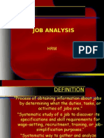11 Lecture Job Analysis