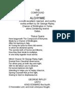 Compound of Alchymie
