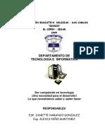 Programación de Tecnología e Informática.IDESCO