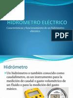 HIDRÓMETRO ELÉCTRICO