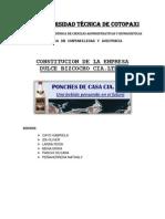 Constitucion de Bizcochos