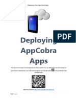 Deploying Your AppCobra Apps
