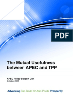 2011_psu_Mutual Usefulness between APEC and TPP - October2011.pdf