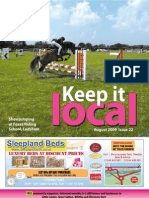 Keep It Local Magazine August 2009