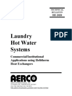 Laundry Hot Water Systems