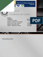 Fundicion de Colado (1)
