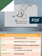 Dextrometorfano Exposicion de Quimica Farmaceutica