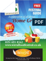 Wirral Food and Drink Brochure Aug 09