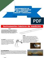 Instrumentos básicos de medición