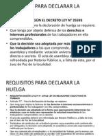 Requisitos Para Declarar La Huelga