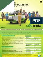 Tata Magic Iris CNG Brochure